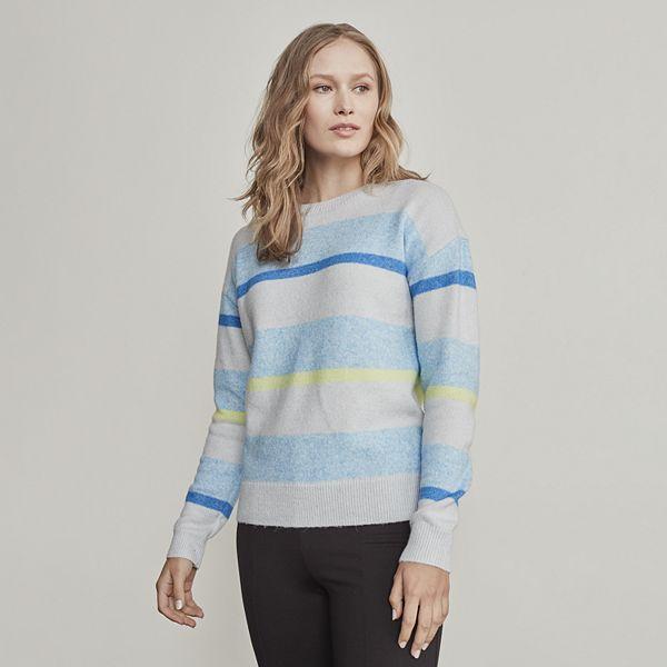 Women's Elizabeth and James Drop Shoulder Crewneck ... Sweater