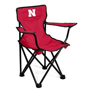 Logo Brands Nebraska Cornhuskers Toddler Portable Folding Chair