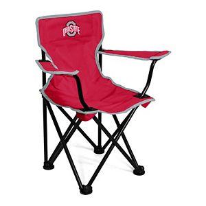 Logo Brands Ohio State Buckeyes Toddler Portable Folding Chair