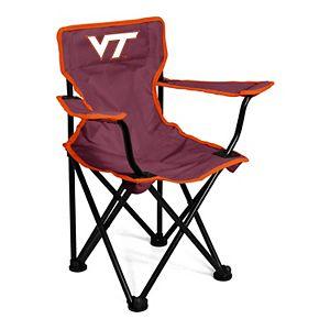 Logo Brands Virginia Tech Hokies Toddler Portable Folding Chair