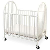 LA Baby Deluxe Compact Crib & Mattress