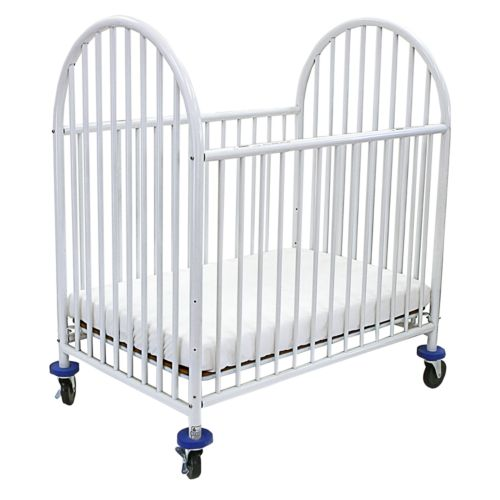 L.A. Baby Deluxe Compact Crib and Mattress