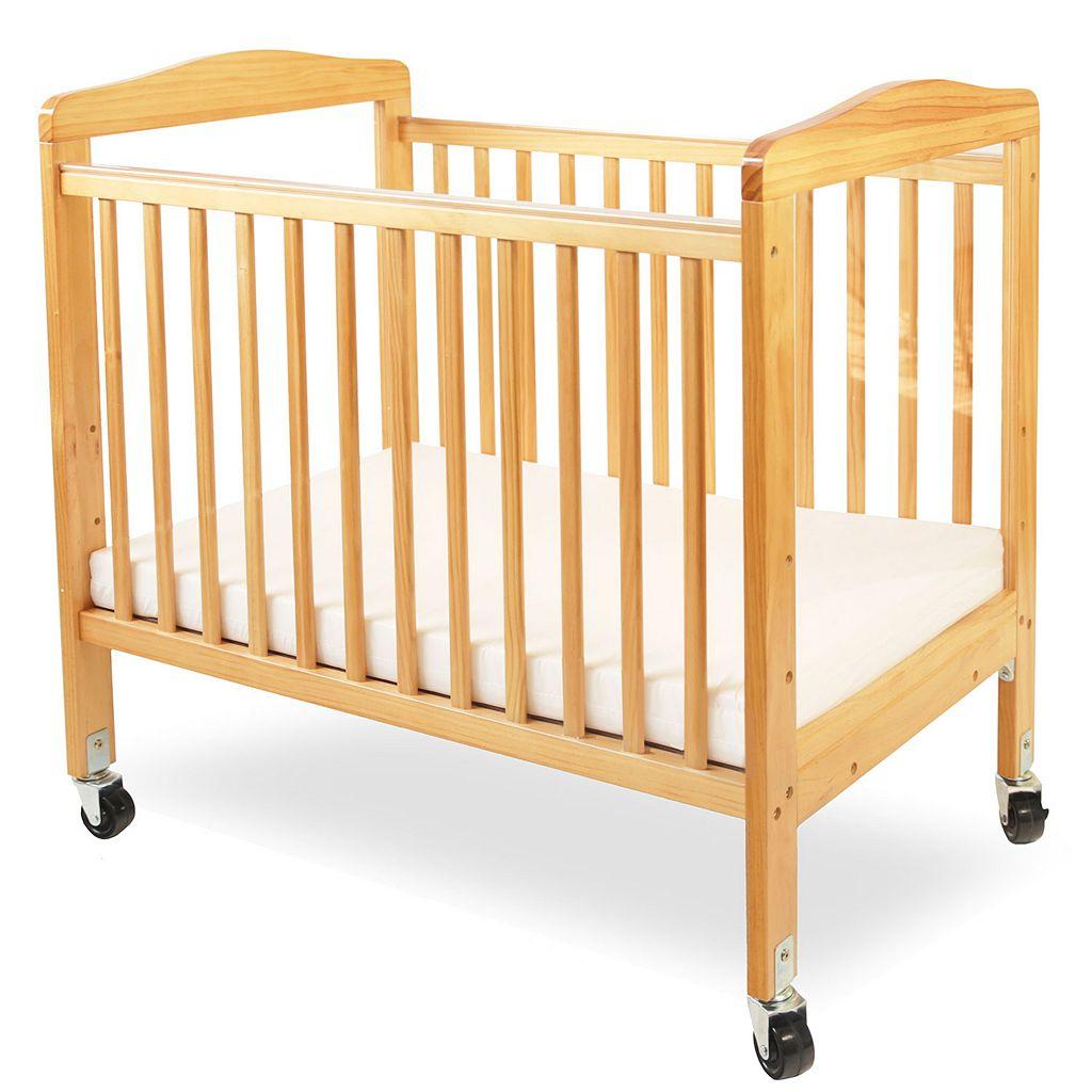 LA Baby Window Crib & Mattress
