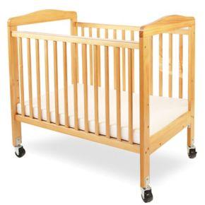 LA Baby Window Crib and Mattress