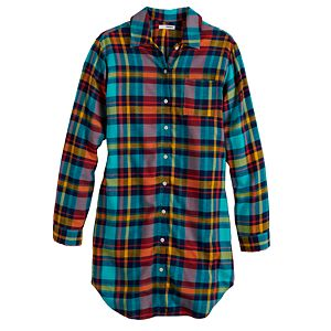 Women's Sonoma Goods For Life® Flannel Sleepshirt