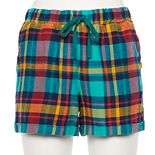 Women's Sonoma Goods For Life® Flannel Pajama Shorts