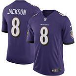 Men's Nike Lamar Jackson Purple Baltimore Ravens Speed Machine Limited Jersey
