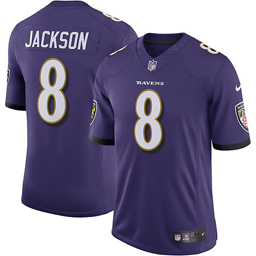 Baltimore Ravens Jerseys Adult Tops, Clothing | Kohl's