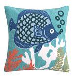 Levtex Home Sancti Petri Fish Throw Pillow