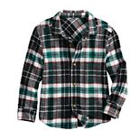 Toddler Boy Jumping Beans® Flannel Shirt