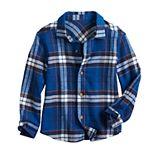 Toddler Boy Jumping Beans® Flannel Shirt