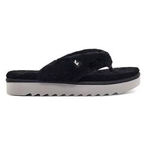 Koolaburra by UGG Furr-ee Women's Faux-Fur Sandals