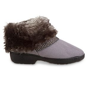 Women's isotoner Recycled Microsuede Mallory Boot Slipper