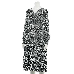 Maternity a:glow? Tiered Peasant Dress