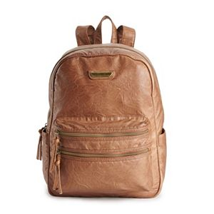 Stone & Co. Smokey Faux Leather Backpack