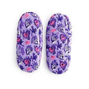 Disney's Descendants 3 Girls 4-9 Fuzzy Babba Slipper Socks
