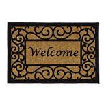 Ottomanson Ottohome Welcome Indoor Outdoor Doormat - 20'' x 30''