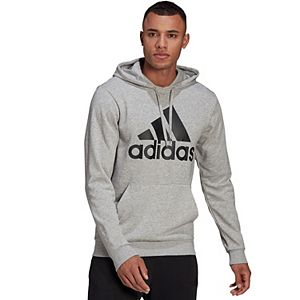 Big & Tall adidas Badge of Sport French-Terry Hoodie