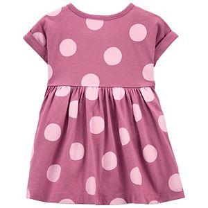 Baby Girl Carter's 2-Piece Polka Dot Dress & Legging Set