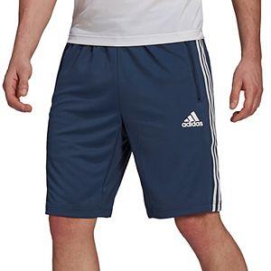 Big & Tall adidas D2M 3-Stripes Shorts