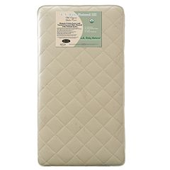 LA Baby Natural III  Crib Mattress with Natural Coconut Fiber