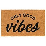 RugSmith Only Good Vibes Doormat