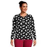 Plus Size Lands' End Supima Cotton Cardigan Sweater