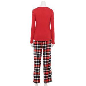Women's Sonoma Goods For Life® Long Sleeve Pajama Top & Pajama Pants Set