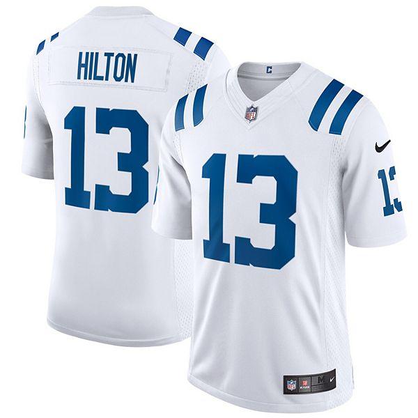 Men's Nike T.Y. Hilton White Indianapolis Colts Vapor Limited Jersey
