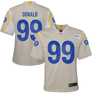 Youth Nike Jared Goff Bone Los Angeles Rams Game Jersey
