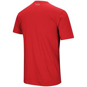 Men's Under Armour Red Chicago Cubs Performance Arch T-Shirt