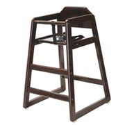 L.A. Baby Wooden High Chair