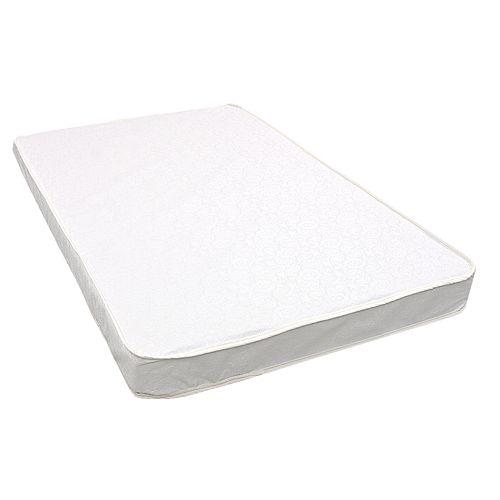 LA Baby 3-inch Mini / Portable Triple-Laminated Crib Mattress