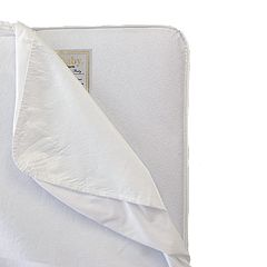 LA Baby Full-Size Waterproof Crib Mattress Pad