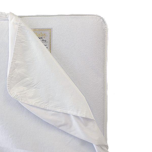 La Baby Full Size Waterproof Crib Mattress Pad
