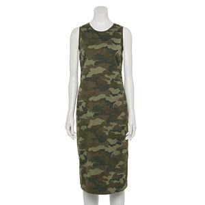 Petite Sonoma Goods For Life® High-Neck Midi Dress