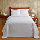 Better Trends Natick Cotton Chenille Bedspread or Sham