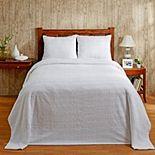 Better Trends Natick Cotton Chenille Bedspread or Sham