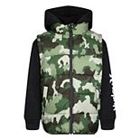 Boys 4-7 Hurley 2-1 Puffer Jacket