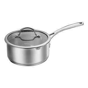 Cuisinart® Forever Stainless Collection 2-qt. Pour Saucepan with Straining Cover