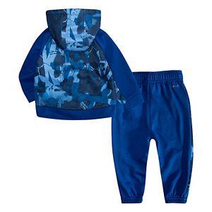 Baby Boy Nike Therma Fleece Zip Jacket & Jogger Pants Set