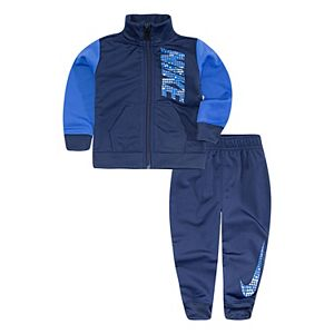 Baby Boy Nike Track Zip Jacket & Jogger Pants Set