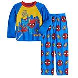 Boys 4-10 Marvel Spider-Man 2-Piece Pajama Set