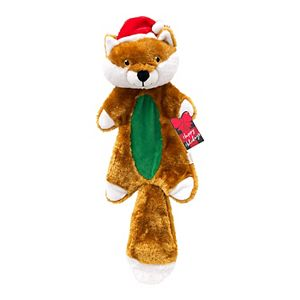 Woof Holiday Fox Plush Toy
