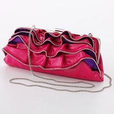 Candie's Zipper Clutch
