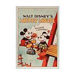 Disney's Mickey Poster Area Rug - 4'6'' x 6'6''