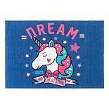 Nickelodeon Jojo Siwa Unicorn Area Rug
