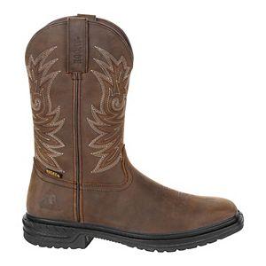 Rocky Worksmart Men's Waterproof Composite Toe Western Work Boots