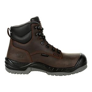Rocky Worksmart Men's 6-Inch Waterproof Composite Toe Work Boots