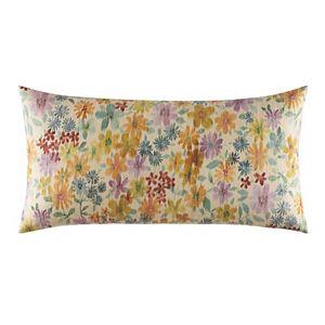 IZI Raffia Floral Decorative Pillow